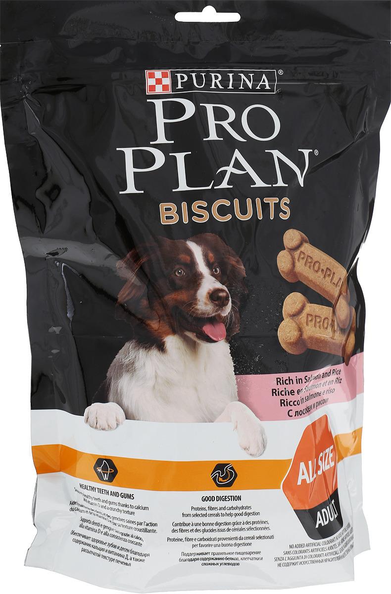 Лакомство для собак Pro Plan, лосось, рис, 400 г бады цинк селен
