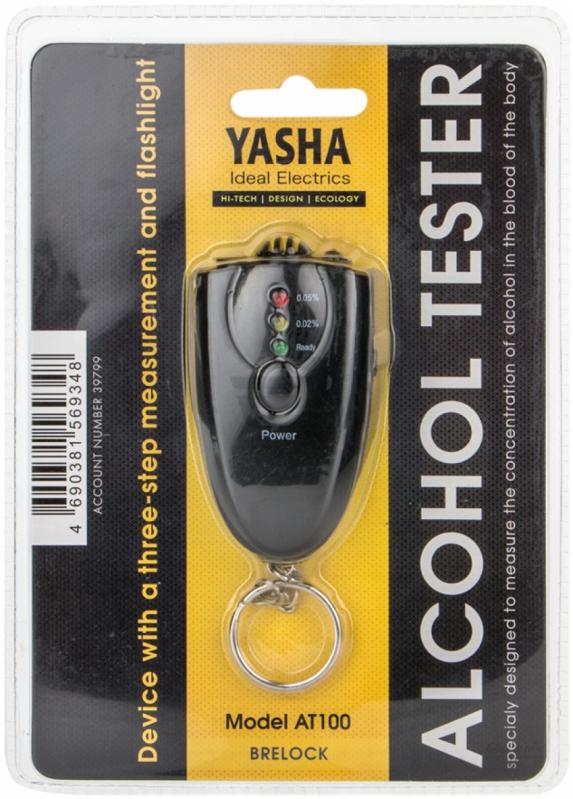 Алкотестер Yasha АТ100, Black алкотестер цена житомир