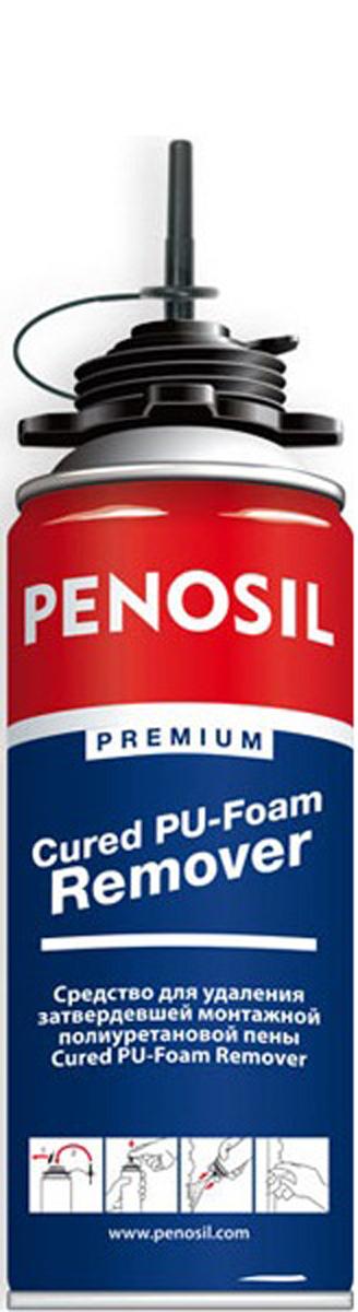 Очиститель монтажной пены Penosil Сured-Foam Remover, 340 мл Высокоэффективное аэрозольное растворяющее и очищающее средство...