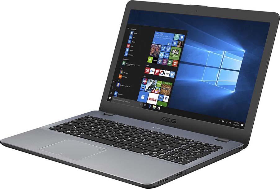 15.6 Ноутбук ASUS VivoBook 15 X542UF 90NB0IJ2-M04940, серый ноутбук asus vivobook 15 x542uf dm071t 15 6 1920x1080 intel core i5 8250u 1 tb 8gb nvidia geforce mx130 2048 мб серый windows 10 home 90nb0ij2 m04940