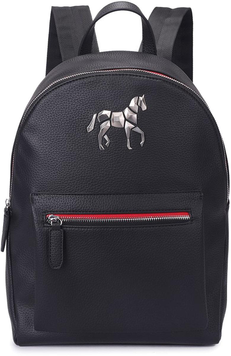 Рюкзак мужской Grizzly, цвет: черно-красный. RM-95/4 grizzly рюкзак черно салатовый
