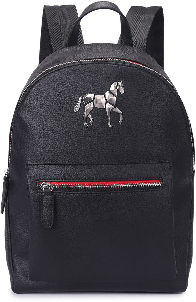 все цены на Рюкзак мужской Grizzly, цвет: черно-красный. RM-95/4 онлайн
