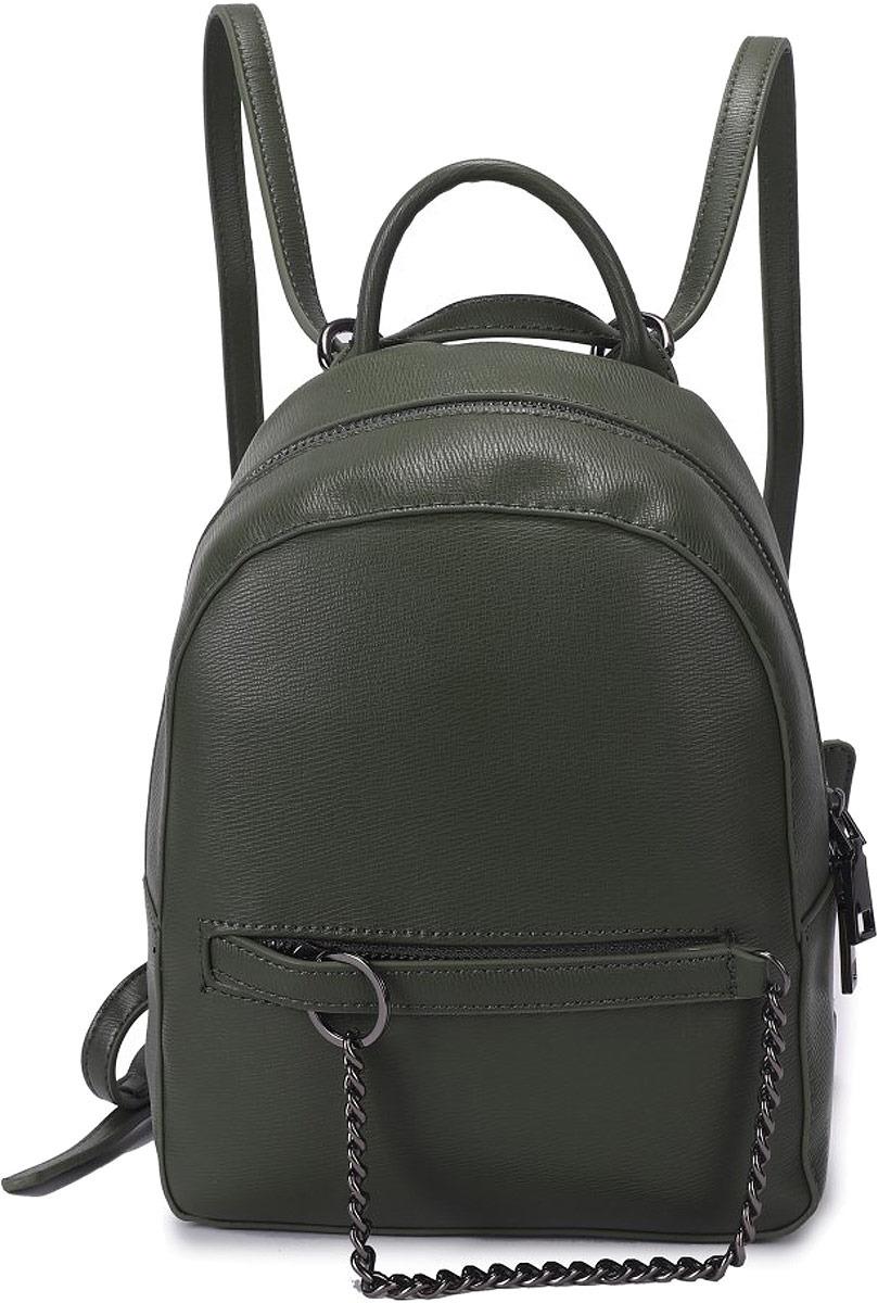 Рюкзак женский OrsOro, цвет: оливковый. DW-842/2 рюкзак женский orsoro цвет оливковый dw 830 2