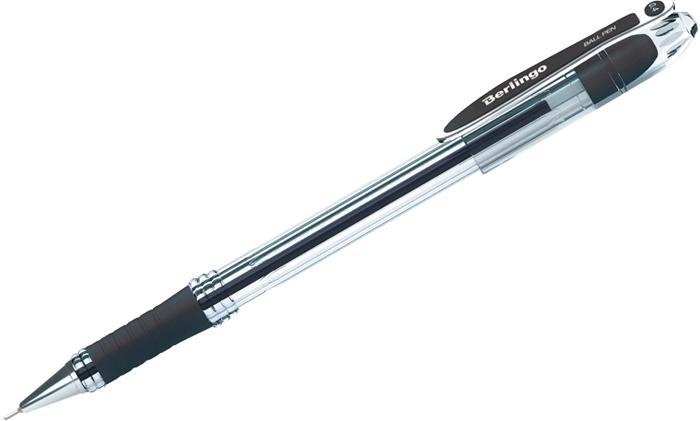 Набор шариковых ручек Berlingo I-10, цвет чернил: черный, 12 шт набор ручек berlingo f 10 автоматических шариковых 4шт синие 0 7мм