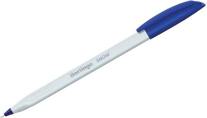 Набор шариковых ручек Berlingo Triangle Snow, цвет чернил: синий, 12 шт