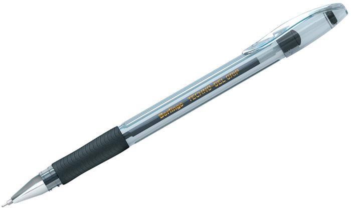 Набор гелевых ручек Berlingo Techno-Gel Grip, цвет чернил: черный, 12 шт ручка berlingo techno gel grip гелевая черная 0 5мм