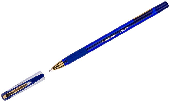 Набор шариковых ручек Berlingo xGold, цвет чернил: синий, 12 шт набор шариковых ручек berlingo g 07 цвет чернил синий 12 шт