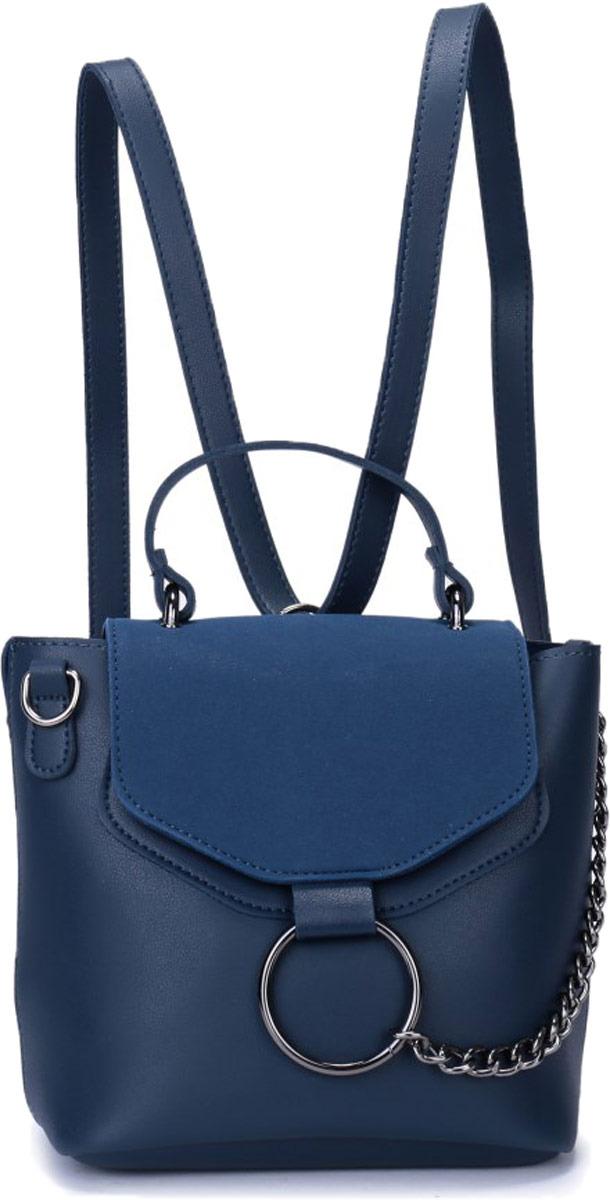 Рюкзак женский OrsOro, цвет: синий. DW-828/2 рюкзак женский orsoro цвет оливковый dw 830 2