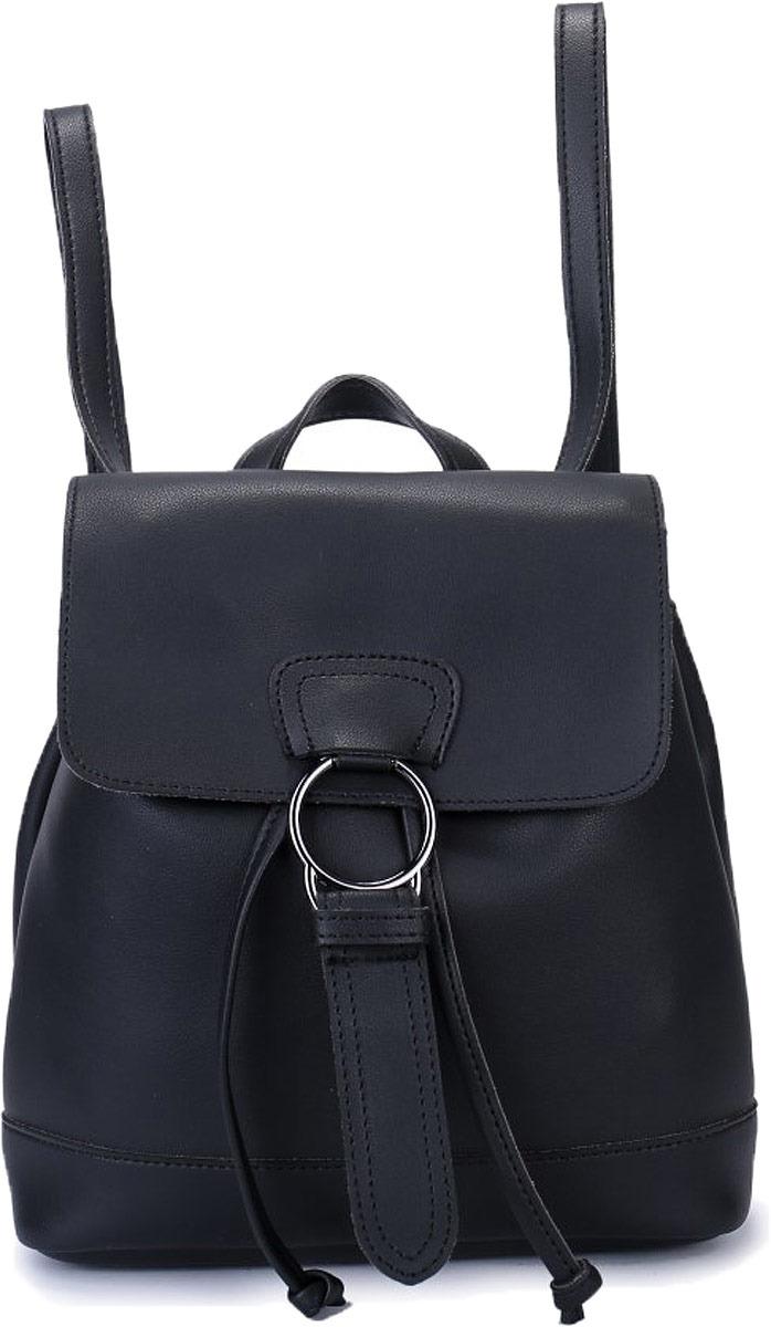 Рюкзак женский OrsOro, цвет: черный. DW-829/1 baifeng baifeng плечо сумка стиль элегантный серии корейский случайный свет мини чистый цвет нейлон гарнитура отверстие рюкзак женский черный