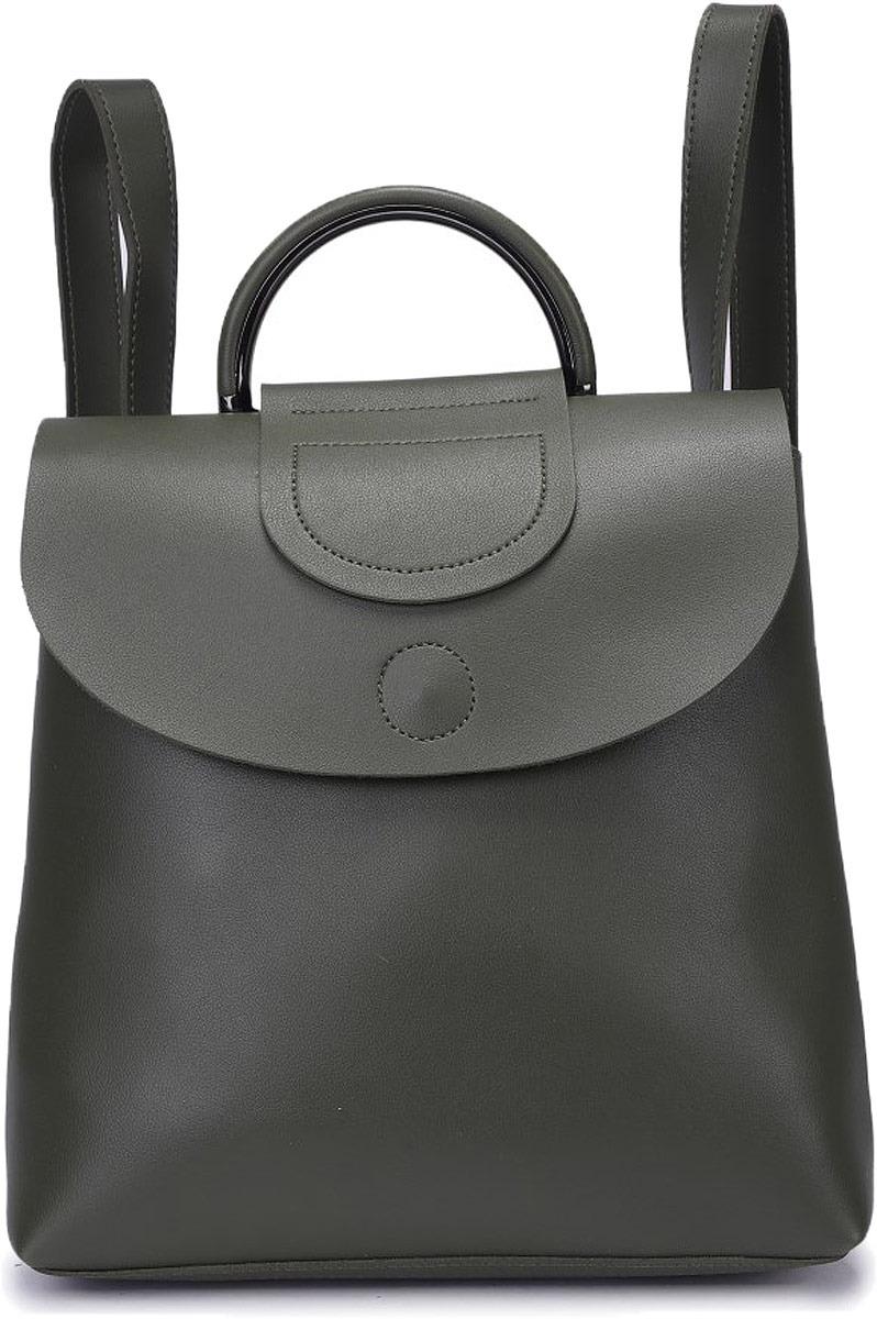 Рюкзак женский OrsOro, цвет: оливковый. DW-831/2 цена