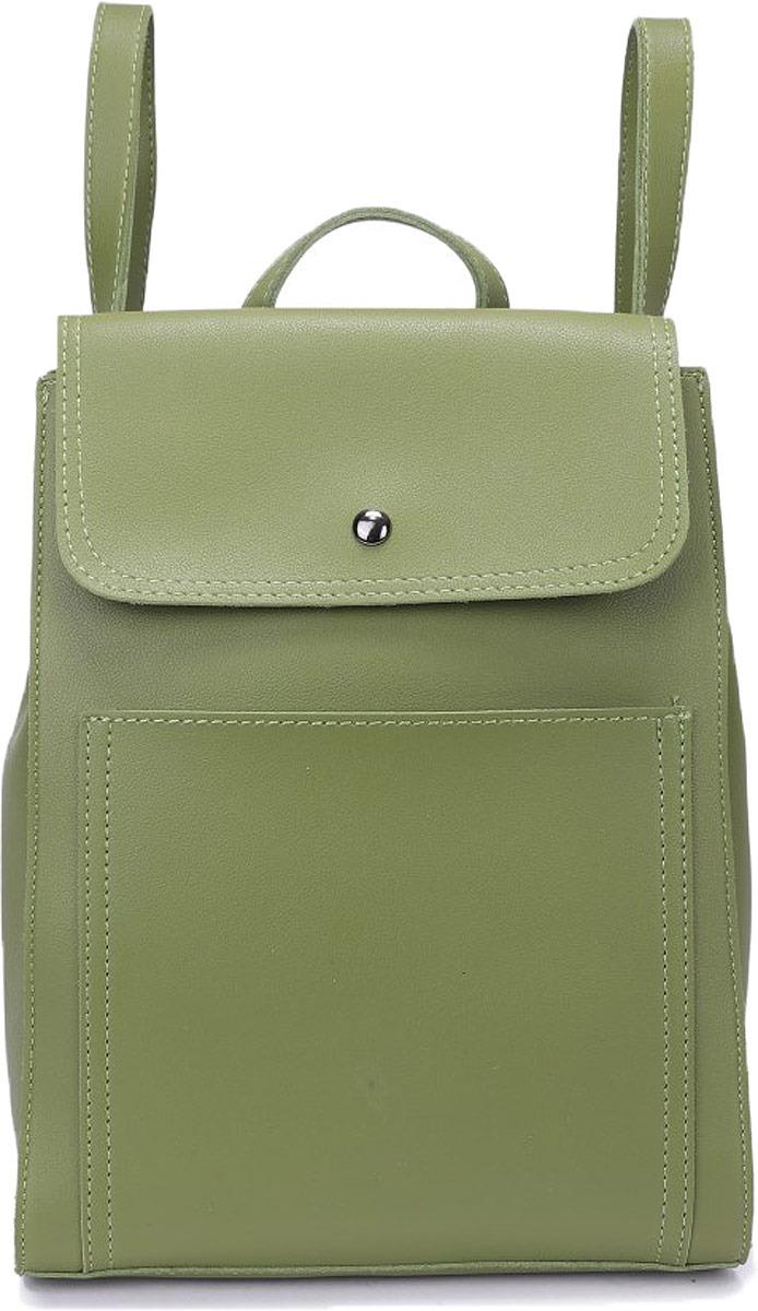 Рюкзак женский OrsOro, цвет: оливковый. DW-832/3 рюкзак женский orsoro цвет оливковый dw 830 2