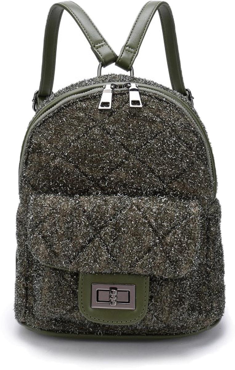 Рюкзак женский OrsOro, цвет: оливковый. DW-827/3 рюкзак женский orsoro цвет оливковый dw 830 2