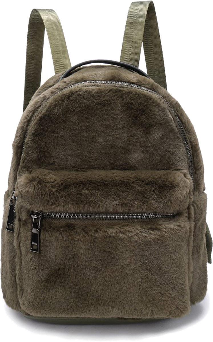 Рюкзак женский OrsOro, цвет: оливковый. DW-852/3 рюкзак женский orsoro цвет оливковый dw 830 2
