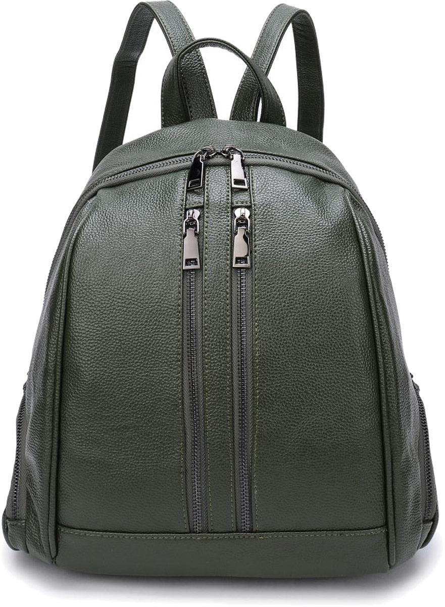Рюкзак женский OrsOro, цвет: оливковый. DW-853/2 цены
