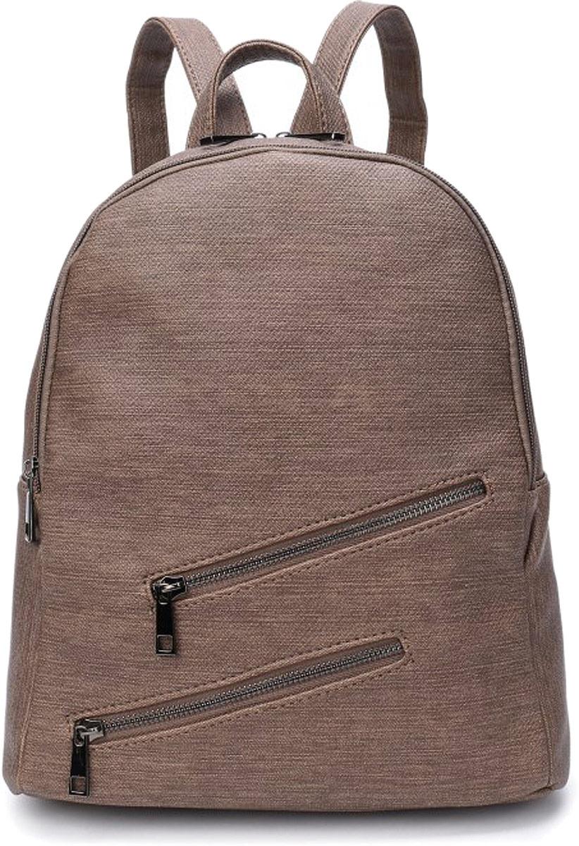 Рюкзак женский OrsOro, цвет: оливковый джинс. DW-818/4 рюкзак женский orsoro цвет оливковый dw 830 2