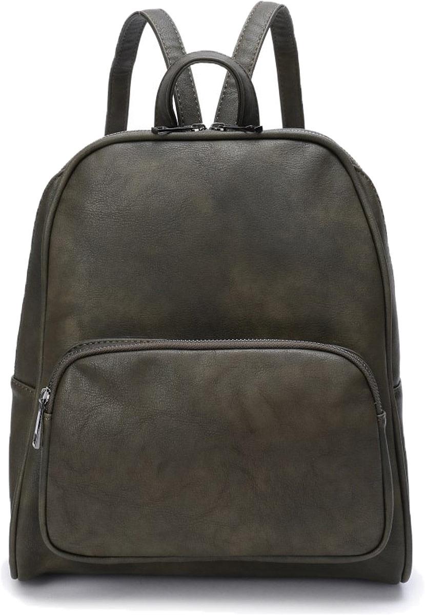 Рюкзак женский OrsOro, цвет: оливковый. DW-817/3 рюкзак женский orsoro цвет оливковый dw 830 2