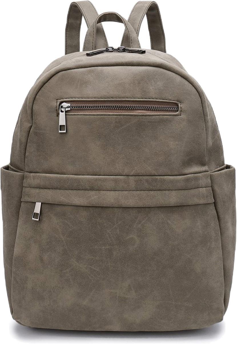 Рюкзак женский OrsOro, цвет: оливковый. DW-814/2 цены