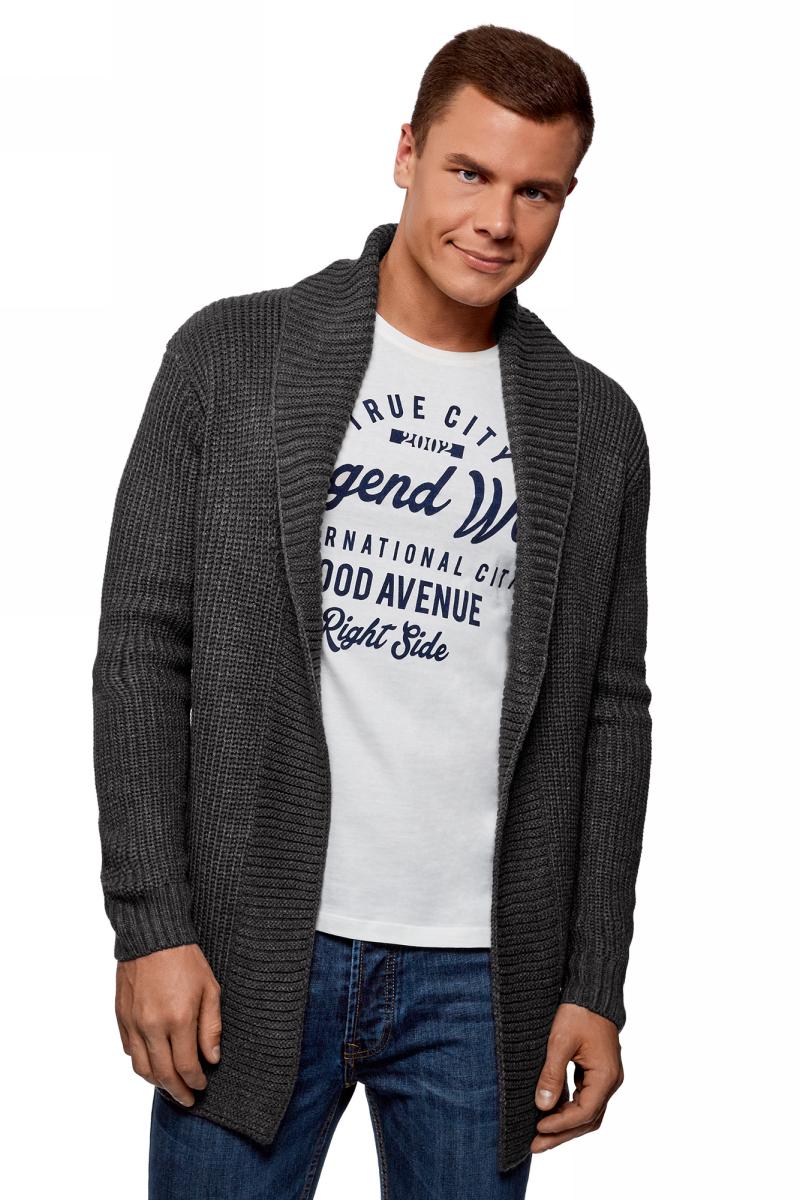 Кардиган oodji Lab пиджак с отложным воротником b young