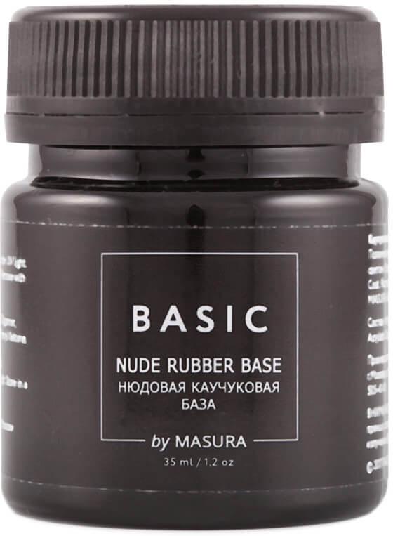 Masura Каучуковая База Basic нюдовая, 35 мл masura топ покрытие для гель лака vitamin 11 мл