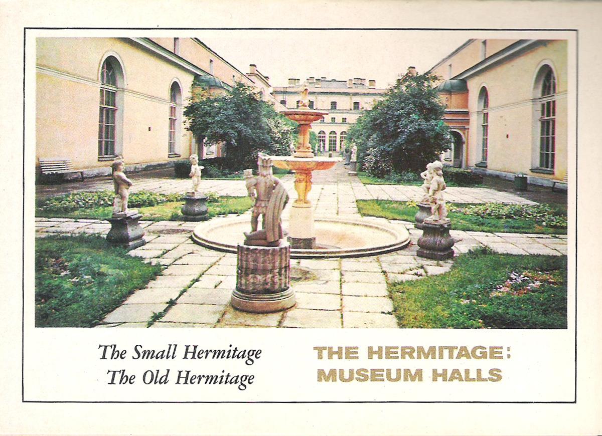 купить The Hermitage: Museum Halls: The Small Hermitage, The Old Hermitage / Залы Эрмитажа: Малый Эрмитаж, Старый Эрмитаж (набор из 16 открыток) онлайн