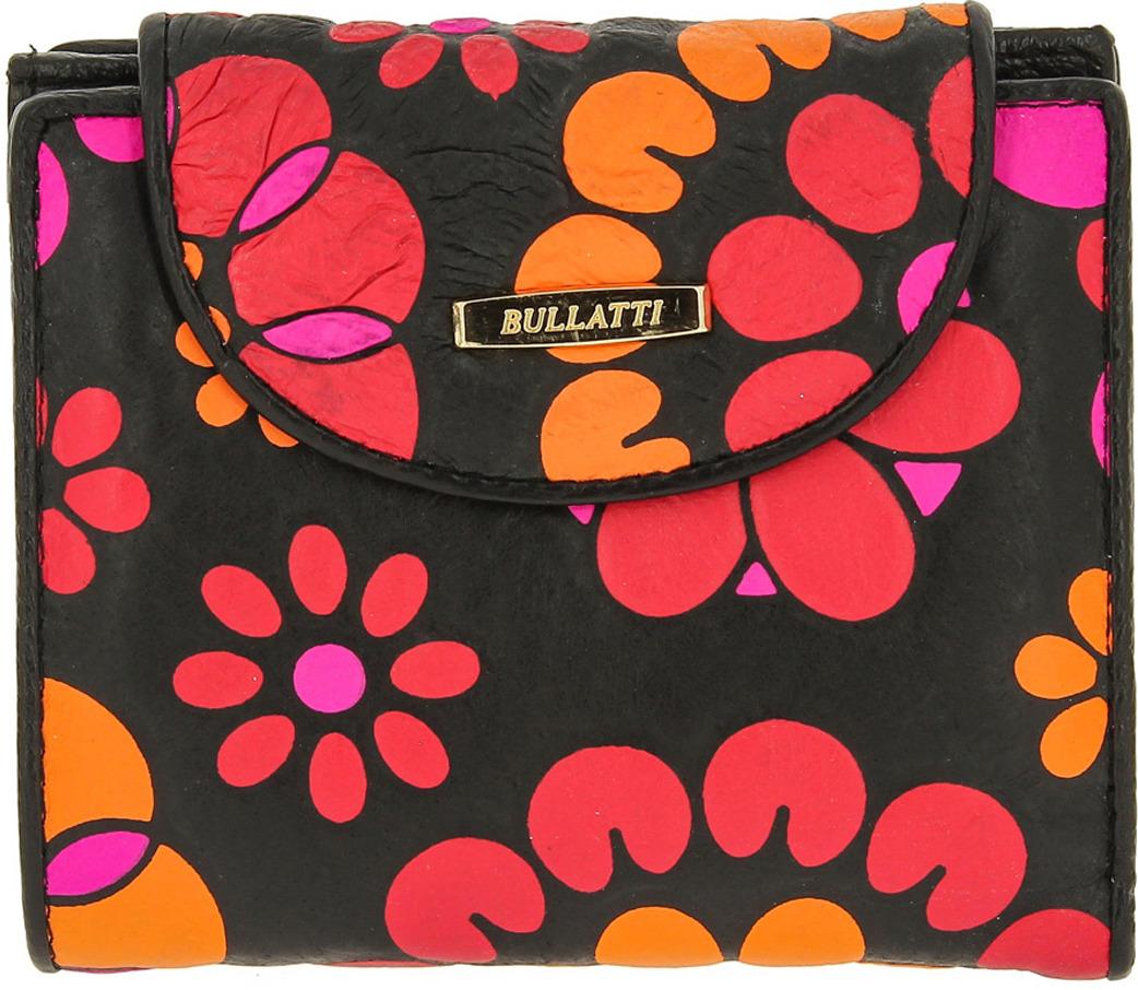 Кошелек женский Bullatti, цвет: черный. 2333L-F89 кошелек женский bullatti цвет розовый 2536l f66
