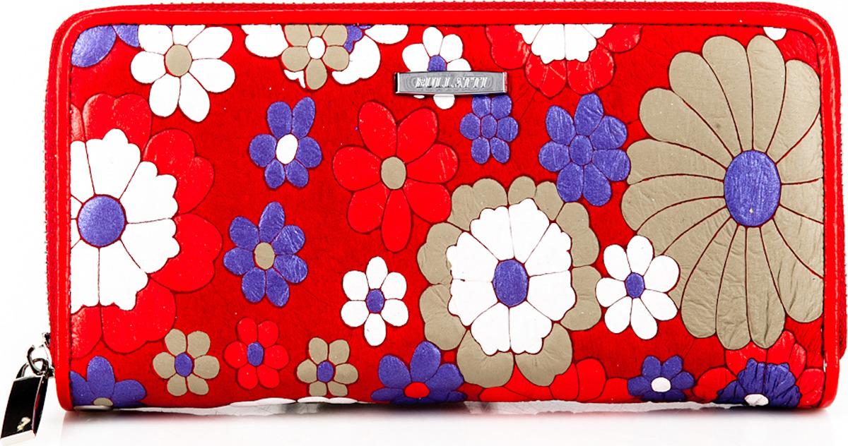Кошелек женский Bullatti, цвет: красный. 2480FL-F54 кошелек женский bullatti цвет розовый 2536l f66