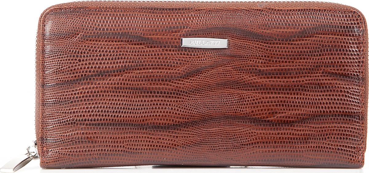 Кошелек женский Bullatti, цвет: коричневый. 2480L-F60 кошелек женский bullatti цвет коричневый 2547l f87