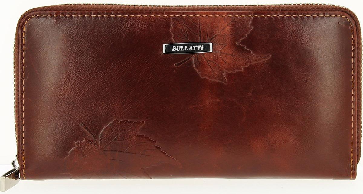 Кошелек женский Bullatti, цвет: коричневый. 2480U-E93 кошелек женский bullatti цвет коричневый 2547l f87