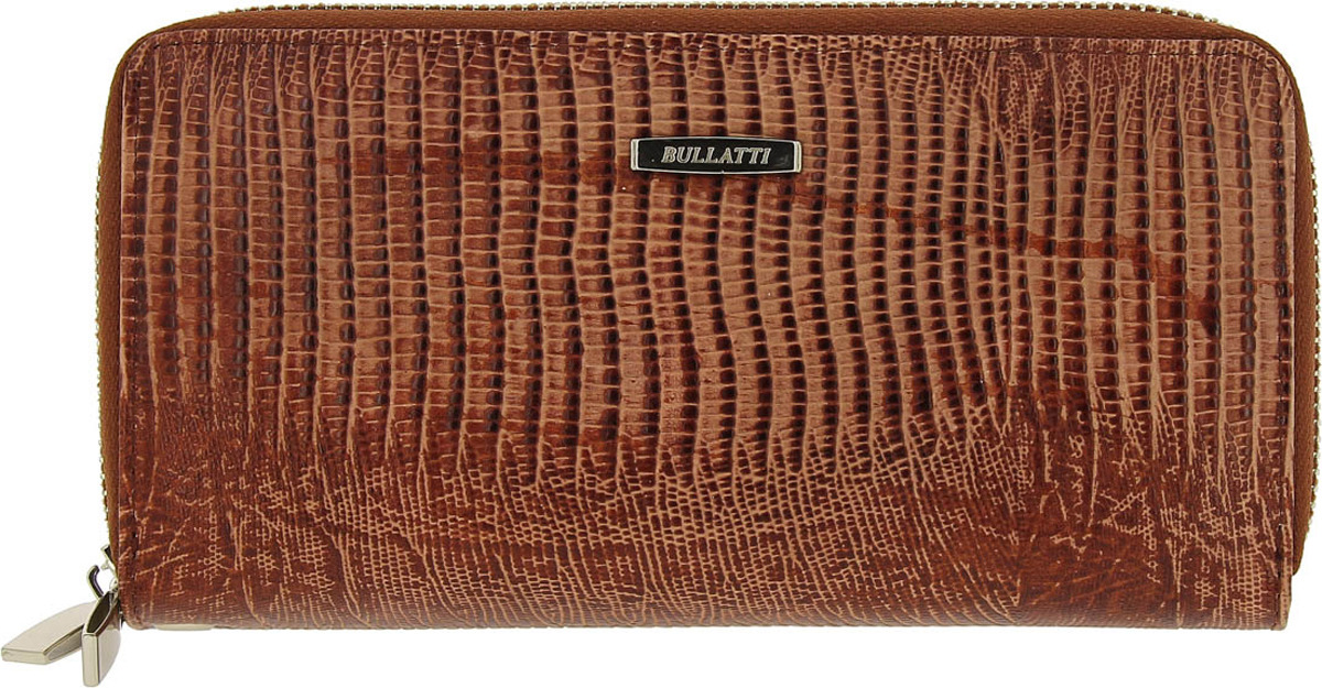 Кошелек женский Bullatti, цвет: коричневый. 2547L-F87 кошелек женский bullatti цвет черный 2333l f89