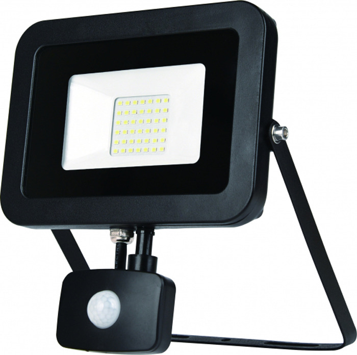 Прожектор ЭРА LPR-50-4000К-М-SEN SMD Eco SlimБ0029435Светоотдача 70 Лм/Вт. Драйвер с рабочим диапазоном 200-240В. Компактный плоский корпус. Верхняя металлическая рамка, обеспечивающая лучшую герметичность по сравнению с вклеенным стеклом. Кронштейн специальной формы, обеспечивающий удобный монтаж. Срок службы светодиодов 30000 часов. Три цветовые температуры 2700К, 4000К, 6500К. Датчик движения с возможностью регулировки настроек.