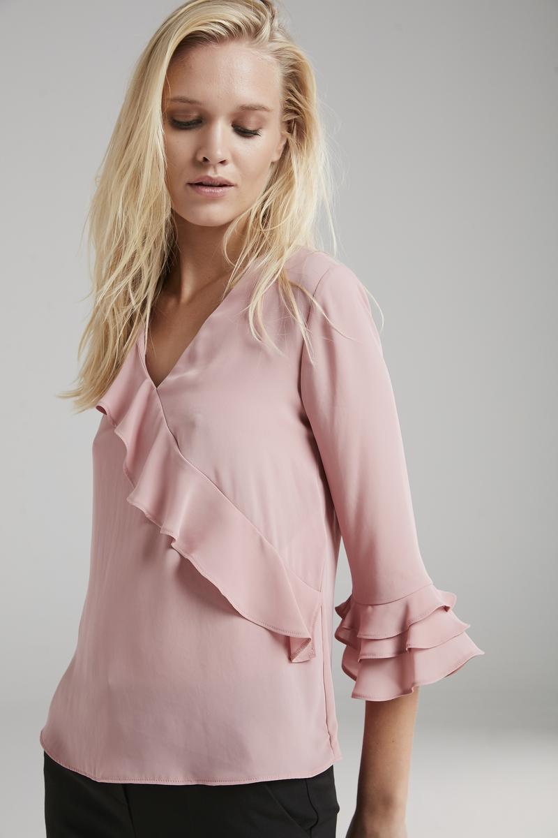 Фото - Блузка adL блузка в горошек с воланами на рукавах 3 12 лет