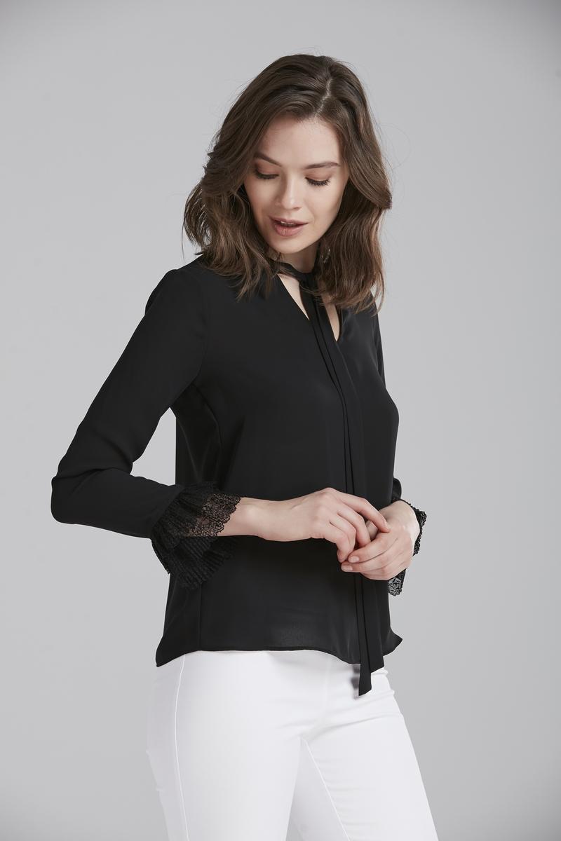 Блузка adL блузка женская adl цвет синий 11533804000 003 размер xs 40 42