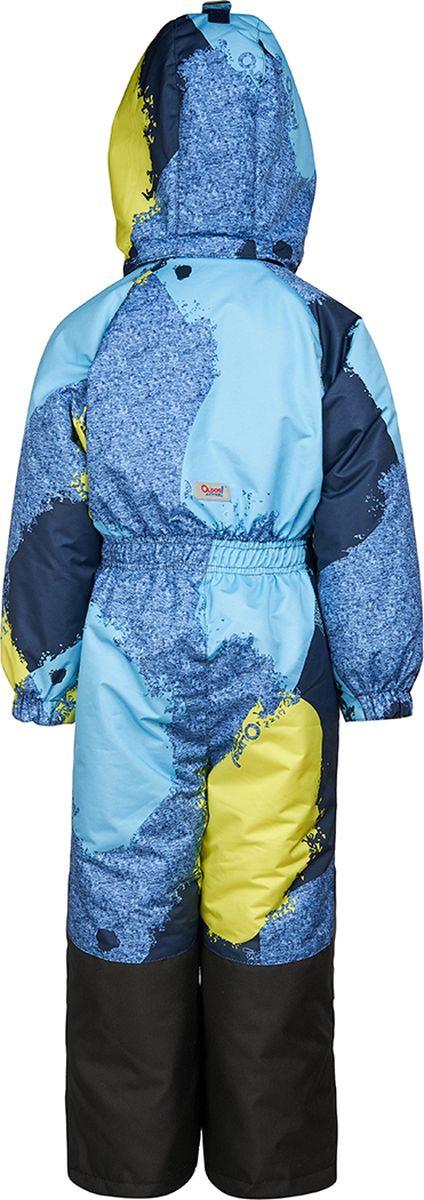 Комбинезон утепленный для мальчика OLDOS ACTIVE Крис, цвет: синий. 1A8OV08. Размер 104