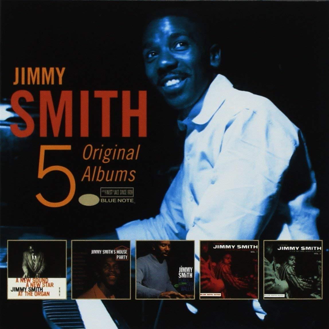 Jimmy Smith. 5 Original Albums (5CD)