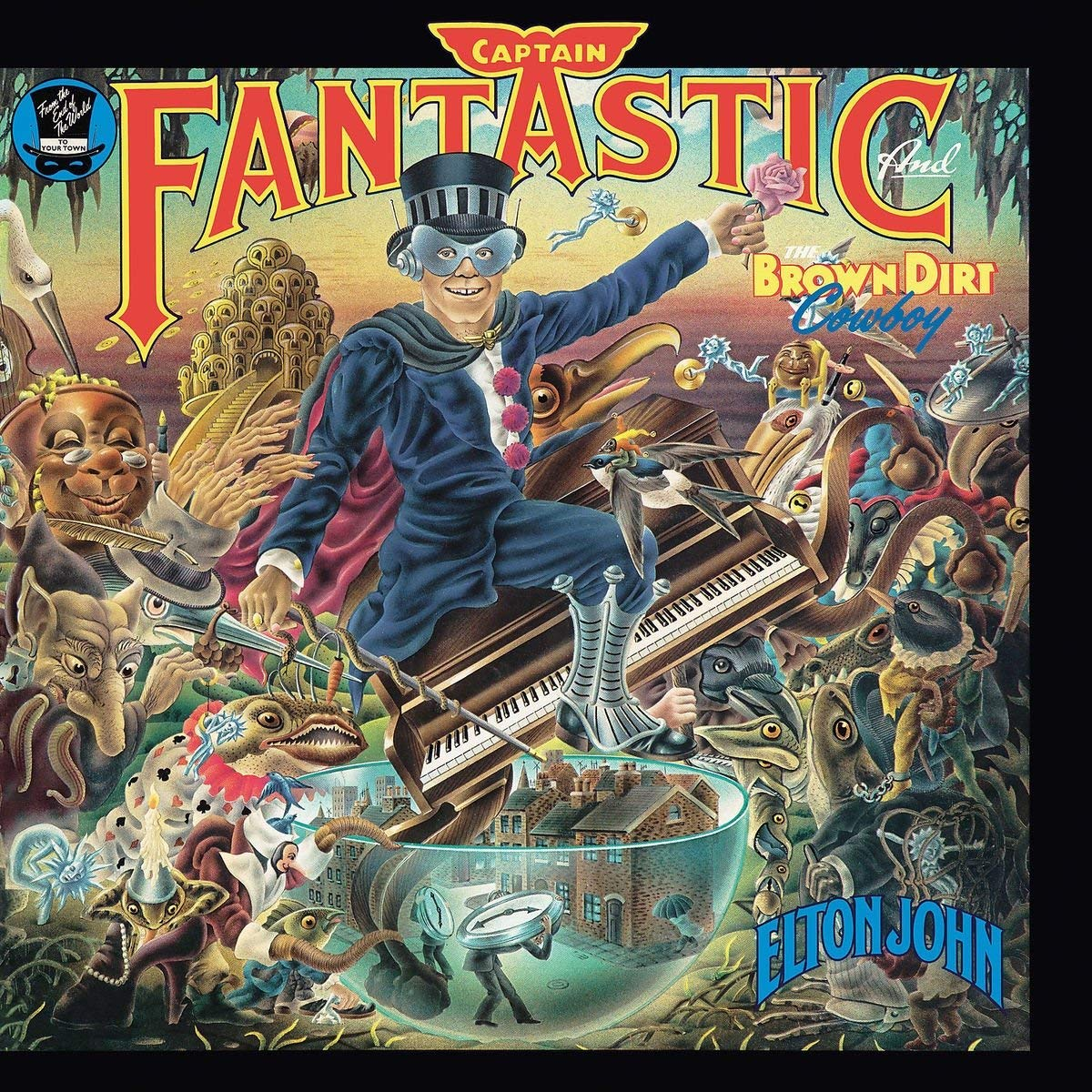 Элтон Джон Elton John. Captain Fantastic And The Brown Dirt Cowboy (LP) элтон джон elton john goodbye yellow brick road don t shoot me i m only the piano player 2 cd