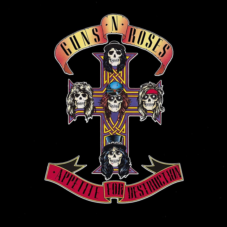 Guns N Roses Roses. Appetite For Destruction