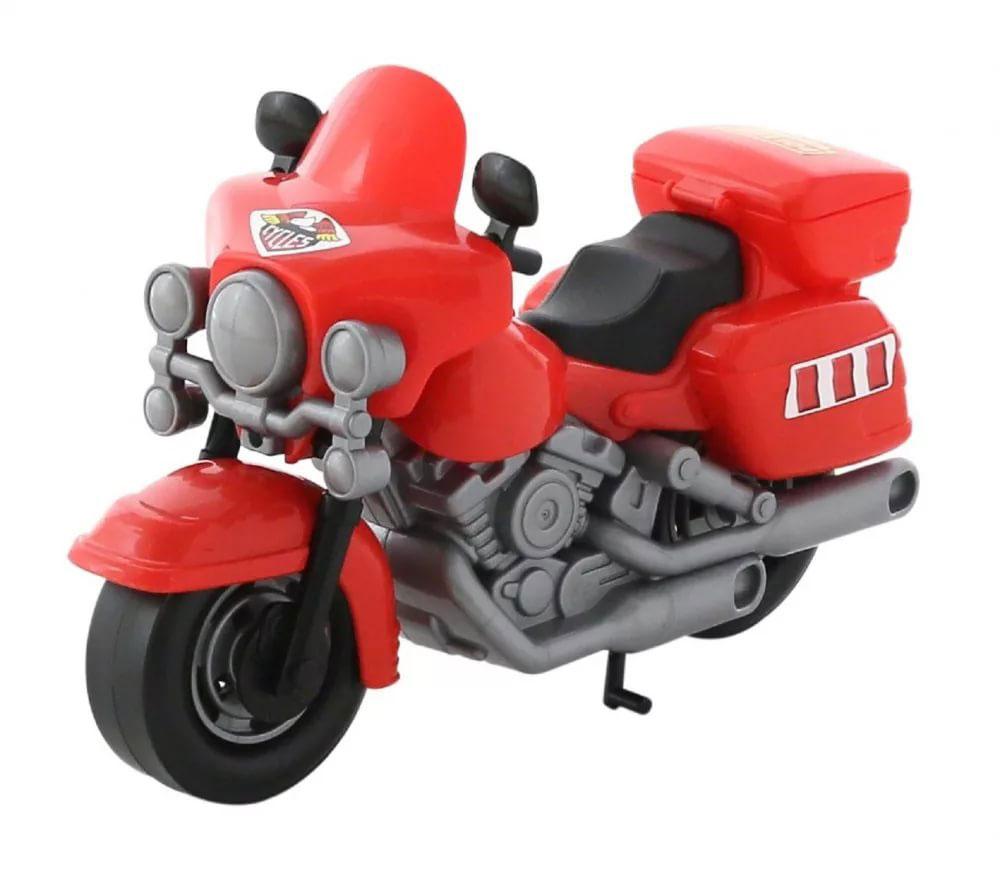 Полесье Полицейский мотоцикл Харлей, цвет в ассортименте