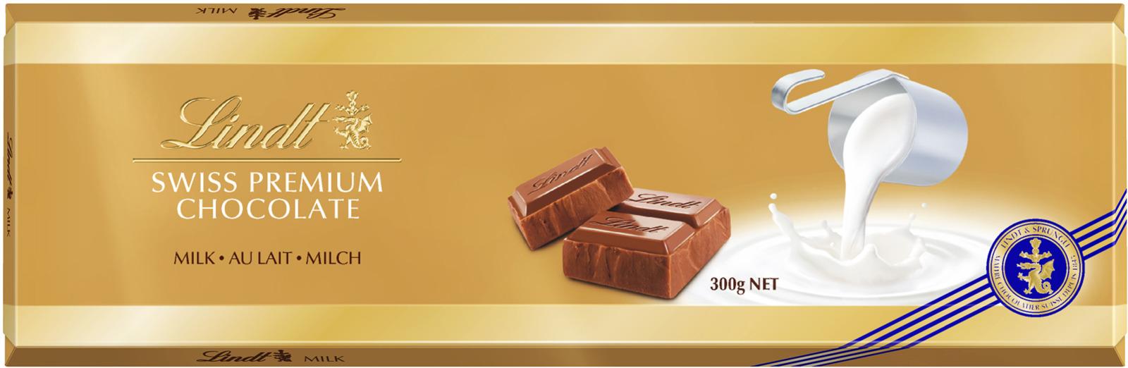 Lindt Gold молочный шоколад, 300 г шоколад молочный lindt creation пралине с вафлей 150 г