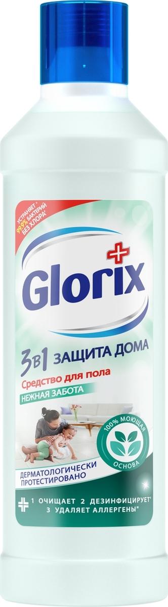 Средство для мытья пола Glorix Нежная забота, 1 л glorix чистящее средство для пола нежная забота 1л