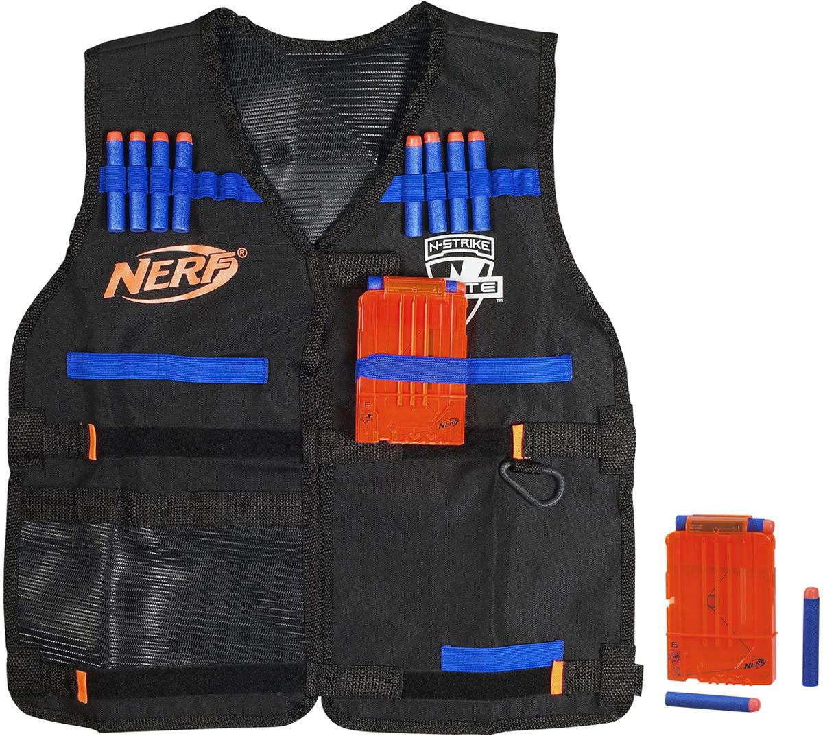 """Nerf Жилет агента """"N-Strike Elite"""", с патронами и обоймами"""