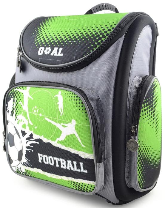 Ранец школьный BG Transformer Football, 37 х 30 х 17 см. SBT 2736 hatber школьный ранец football