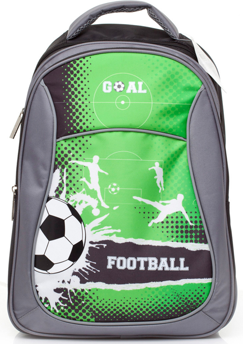 Ранец школьный BG Start Football, 40 х 29 х 15 см. SBS 2737 hatber школьный ранец football