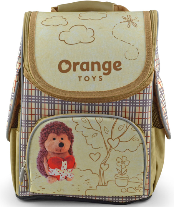 Ранец школьный BG Compact Orange Toys, 34 х 25 х 17 см. SBC 2778