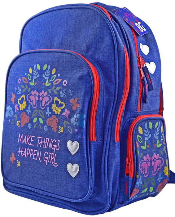Ранец школьный BG рюкзак школьный hama pretty girl