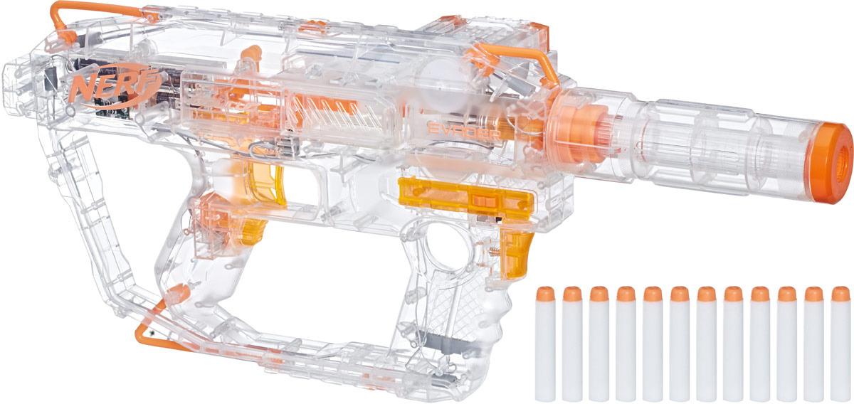 nerf бластер n strike elite quadrant Бластер Nerf N-Strike Modulus Ghost Ops Evader