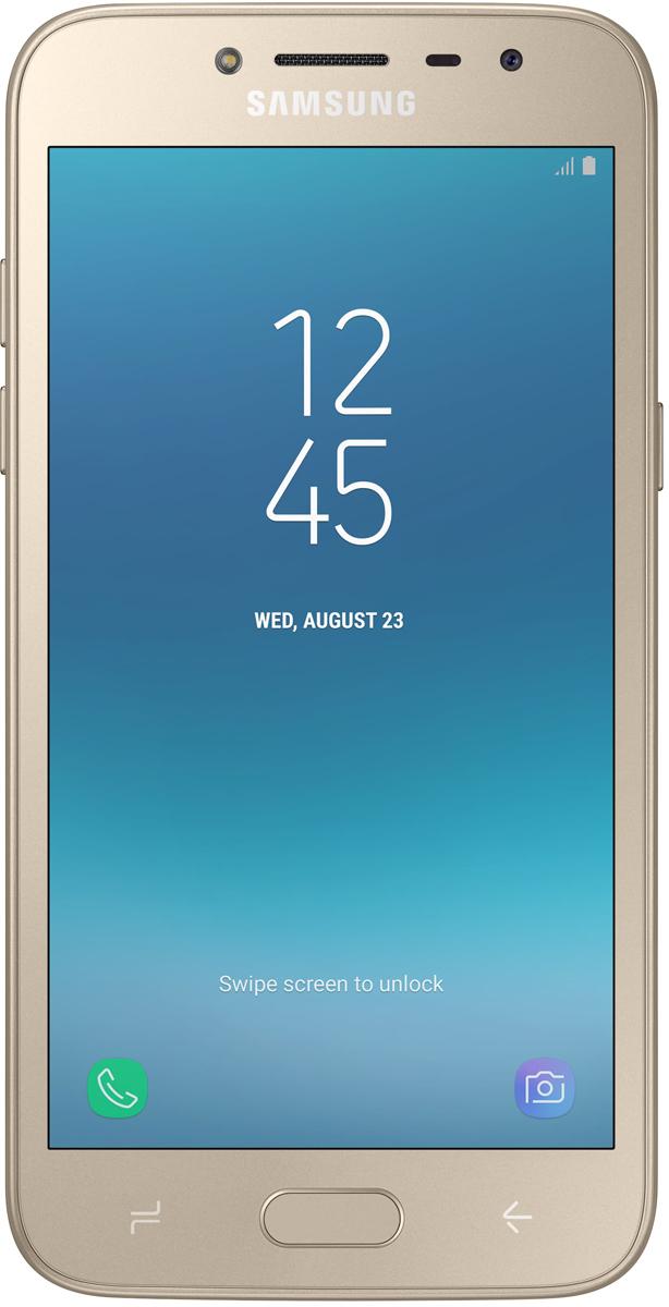 Смартфон Samsung Samsung Galaxy J2 Prime 8 GB, золотистый смартфон samsung galaxy j2 prime sm g532f gold