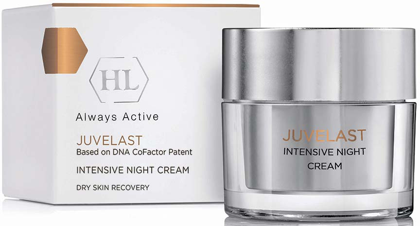 Крем ночной Holy Land Juvelast Intensive Night Cream, 50 мл holy land крем ночной night care bio repair 50мл