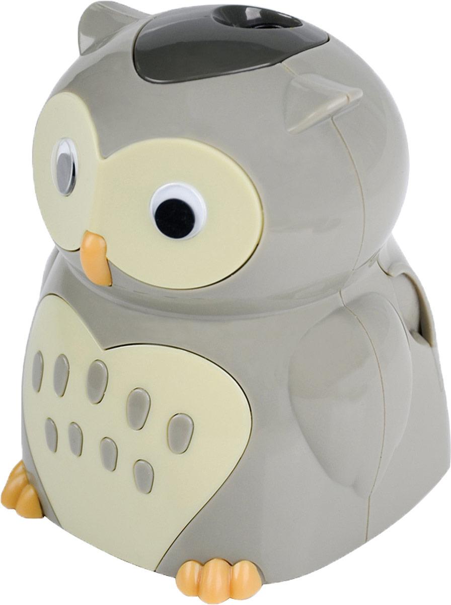 Точилка Berlingo Owl с контейнером
