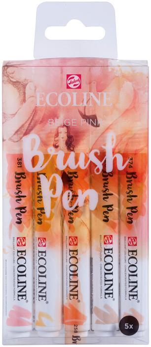 Набор маркеров Royal Talens Ecoline, бежевые цвета, 5 шт