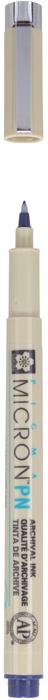 Ручка капиллярная Sakura Pigma Micron, PN 0.4-0.5 мм, цвет чернил: иссиня-черный набор капиллярных ручек sakura pigma micron цвет чернил черный 3 шт